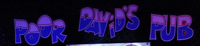 Poor Davids Pub banner