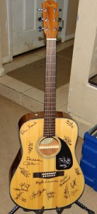 Songwriters For Autism Guitar